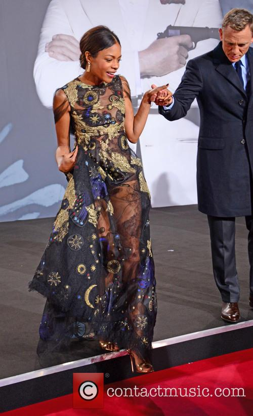 Naomie Harris and Daniel Craig 2