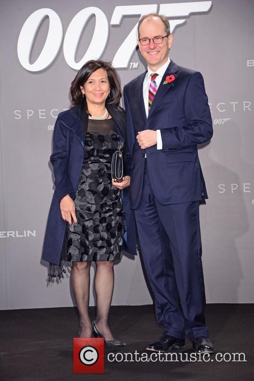 Sirinat, Sir Sebastian Wood, Bond and Sony 1