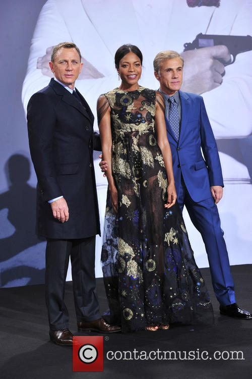 Daniel Craig, Naomie Harris and Christoph Waltz 1