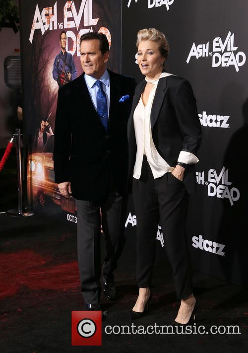 Bruce Campbell and Lucy Lawless 2
