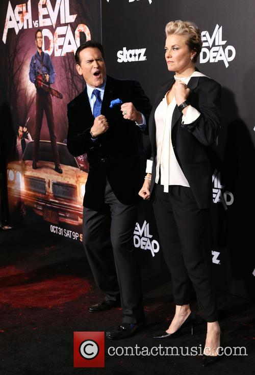 Bruce Campbell and Lucy Lawless 3
