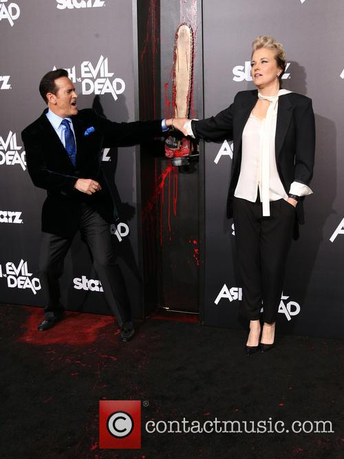 Bruce Campbell and Lucy Lawless 6