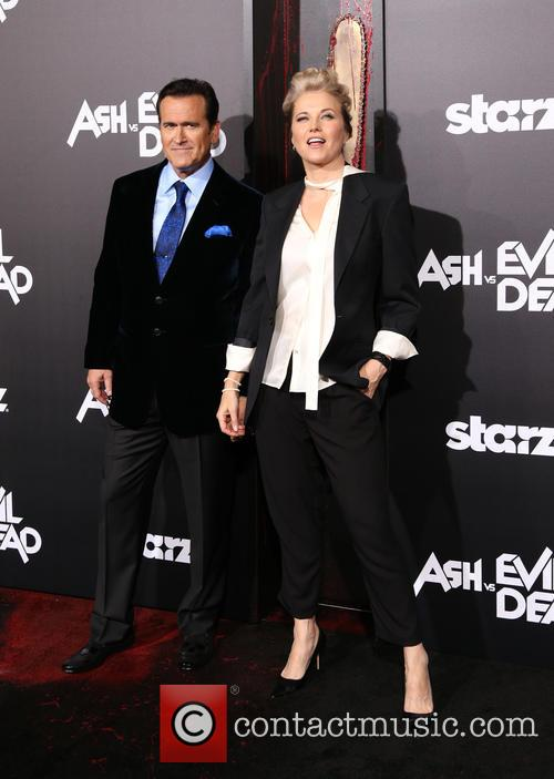 Bruce Campbell and Lucy Lawless 8