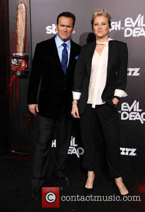 Bruce Campbell and Lucy Lawless 1