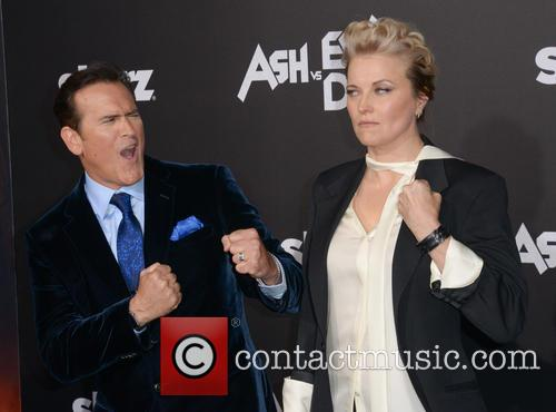 Bruce Campbell, Left and Lucy Lawless 3