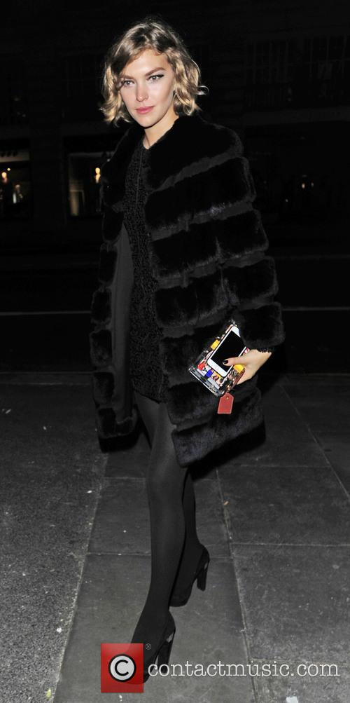 Celebrities attend Halloween parties around London
