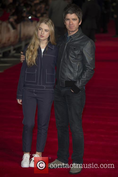 Noel Gallagher and Anaïs Gallagher 4