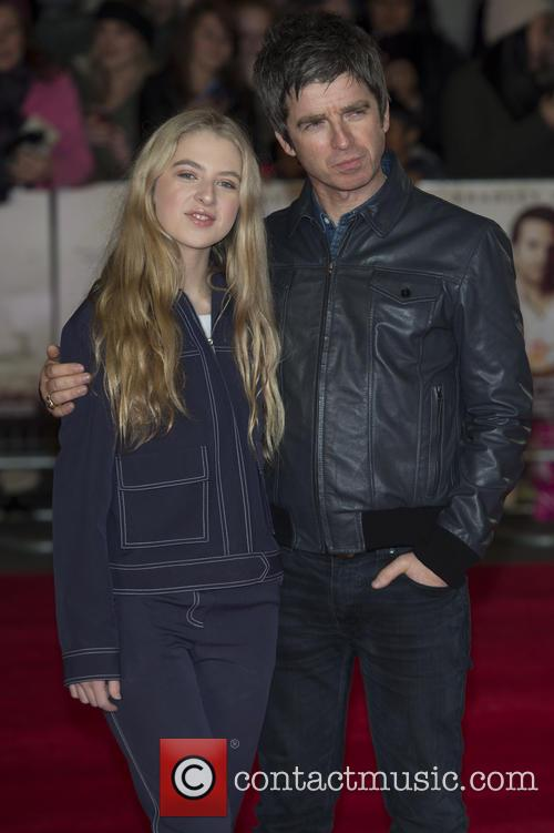 Noel Gallagher and Anaïs Gallagher 5