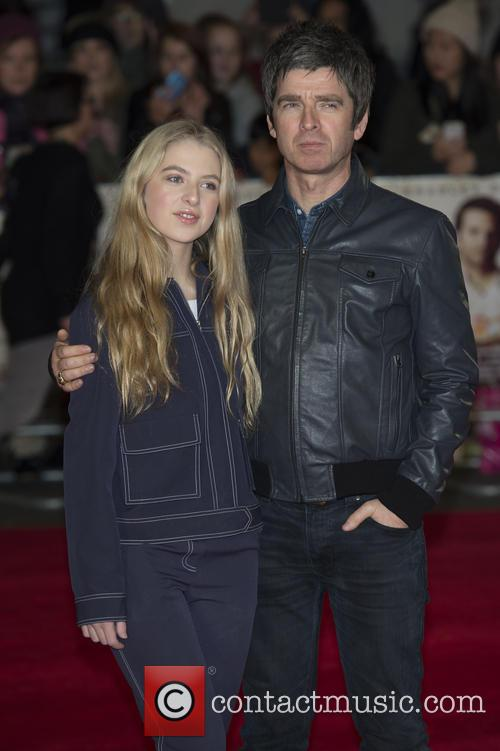 Noel Gallagher and Anaïs Gallagher 1