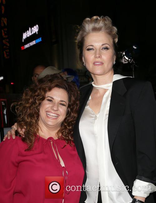 Marissa Jaret Winokur and Lucy Lawless 2