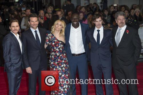 Daniel Bruhl, Bradley Cooper, Sienna Miller, Omar Sy, Sam Keeley and John Wells 1