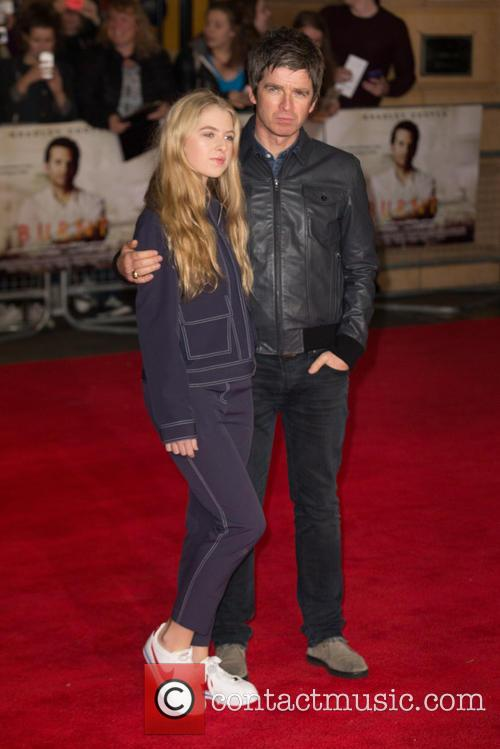 Noel Gallagher and Anais Gallagher 3