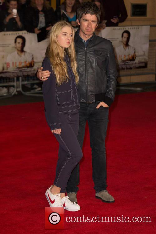 Noel Gallagher and Anais Gallagher 4