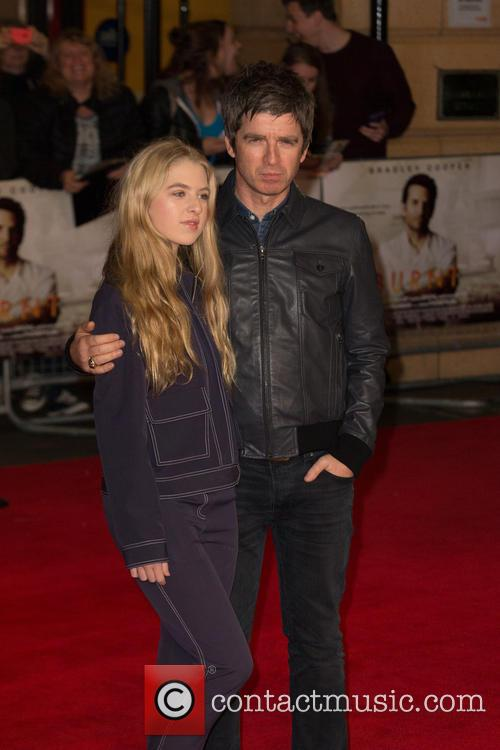 Noel Gallagher and Anais Gallagher 1
