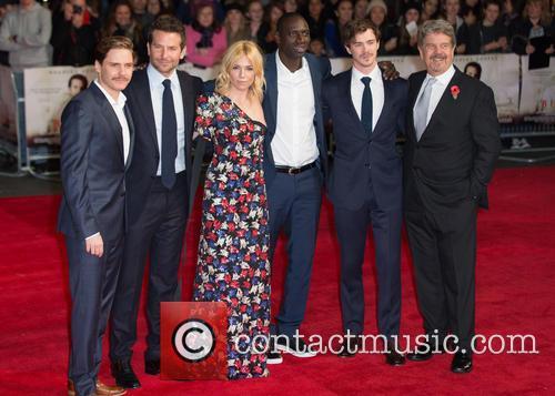 John Wells, Sam Keeley, Omar Sy, Sienna Miller, Bradley Cooper and Daniel Bruhl
