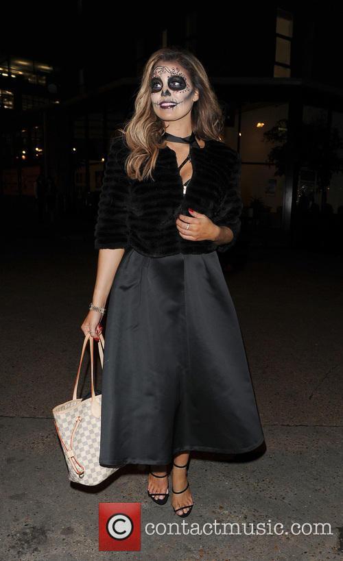 Celebrities attending various Halloween parties all over London