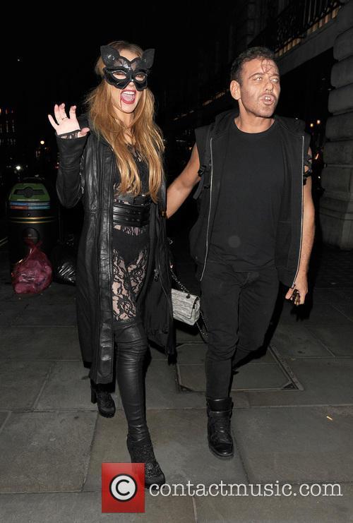Lindsay Lohan and Mert Alas 2