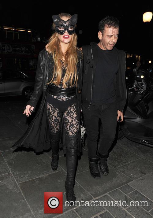 Lindsay Lohan and Mert Alas 5