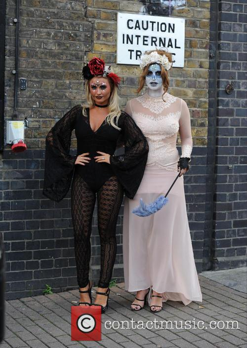 Billie Faiers and Ferne Mccann 2