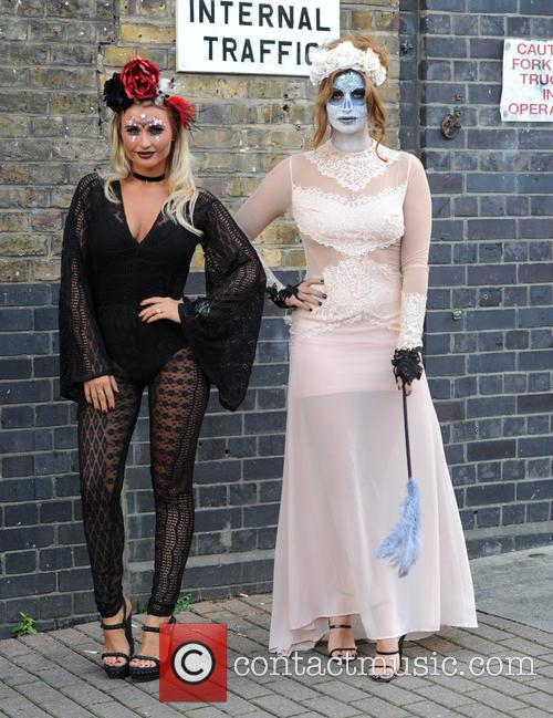 Billie Faiers and Ferne Mccann 1