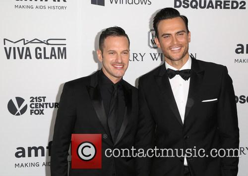 Jason Landau and Cheyenne Jackson 1