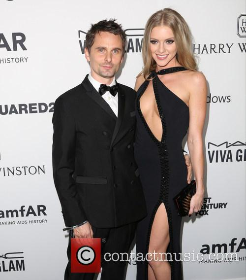 Matthew Bellamy and Elle Evans 1