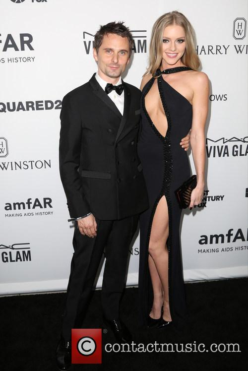 Matthew Bellamy and Elle Evans 2