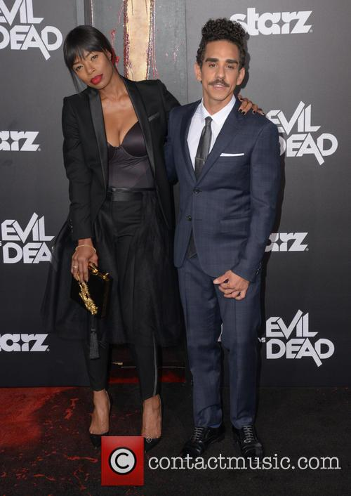 Jill Marie Jones, Left and Ray Santiago 2