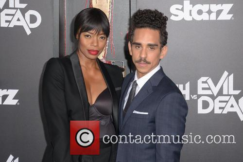 Jill Marie Jones, Left and Ray Santiago 1