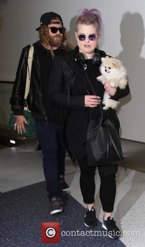 Kelly Osbourne arrives at LAX