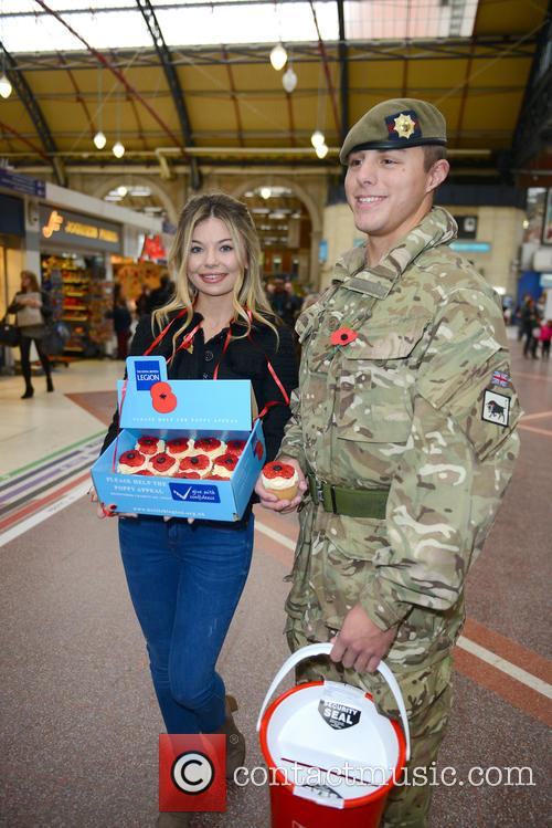 Made in Chelsea stars support London Poppy Day