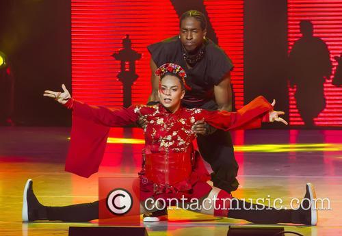 "Team Stage's Gaby Diaz Who Won The Title Of America's Favorite Dancer In Season 12 Performs With Team Street Eddie ""neptune"" Eskridge 1"