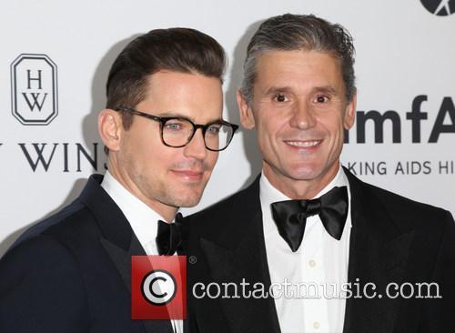 Matt Bomer and Simon Halls 1