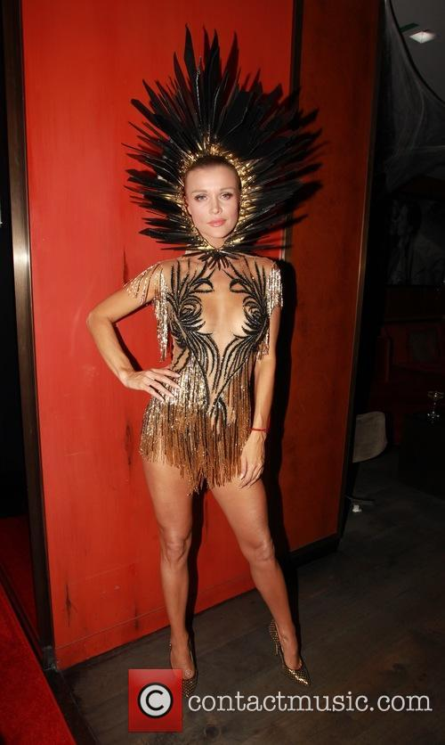 Celebrities attend a Halloween Party