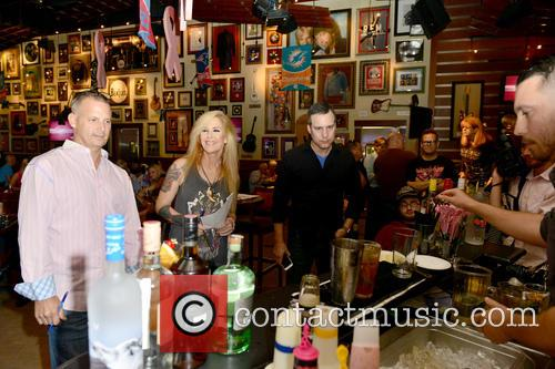 Jared Cruze, Lita Ford and Brian Loukmas 5