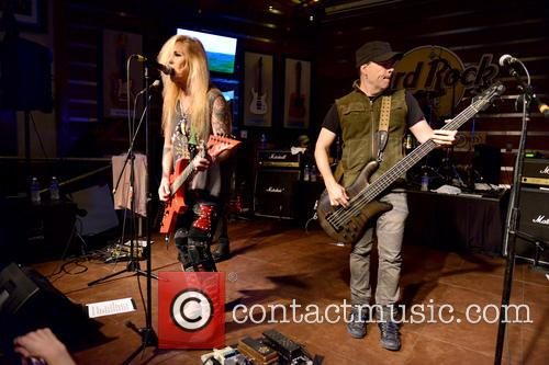 Lita Ford and Motty O'brien 11