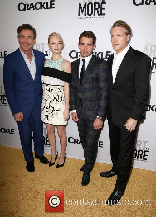 Dennis Quaid, Kate Bosworth, Christian Cooke and Cary Elwes 1