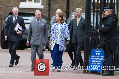 Prince Of Wales, His Royal Highness, Ségolène Royal and French Minister Of Ecology 2