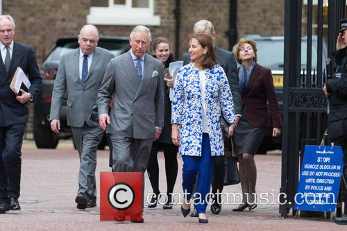 Prince Of Wales, His Royal Highness, Ségolène Royal and French Minister Of Ecology 5