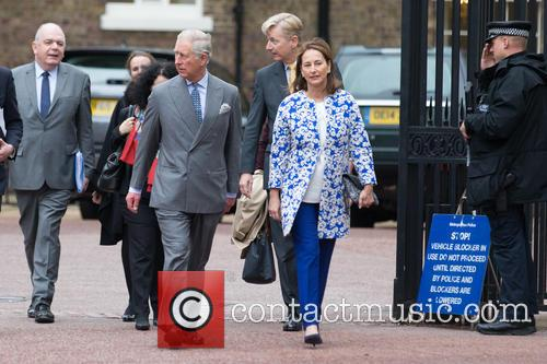 Prince Of Wales, His Royal Highness, Ségolène Royal and French Minister Of Ecology 6