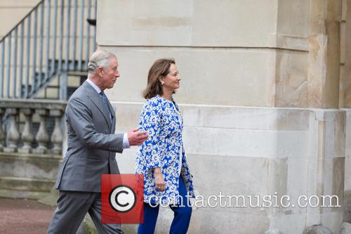 Prince Of Wales, His Royal Highness, Ségolène Royal and French Minister Of Ecology 8
