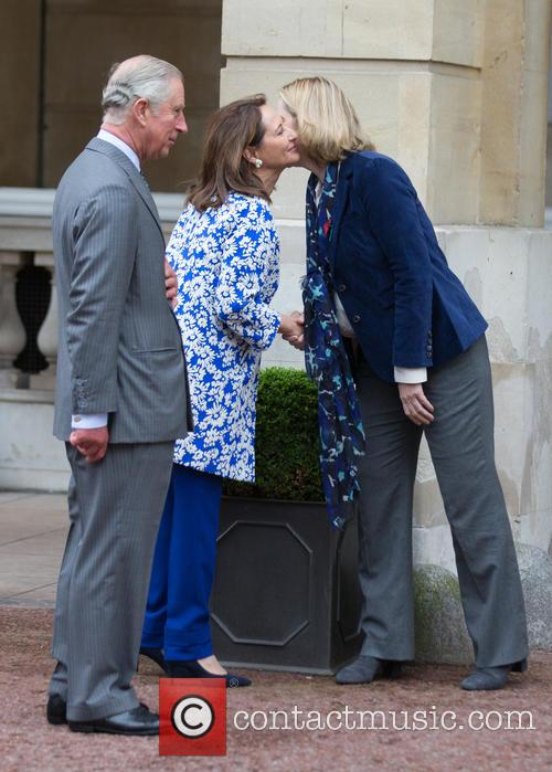 Prince Of Wales, His Royal Highness, Ségolène Royal and French Minister Of Ecology 9