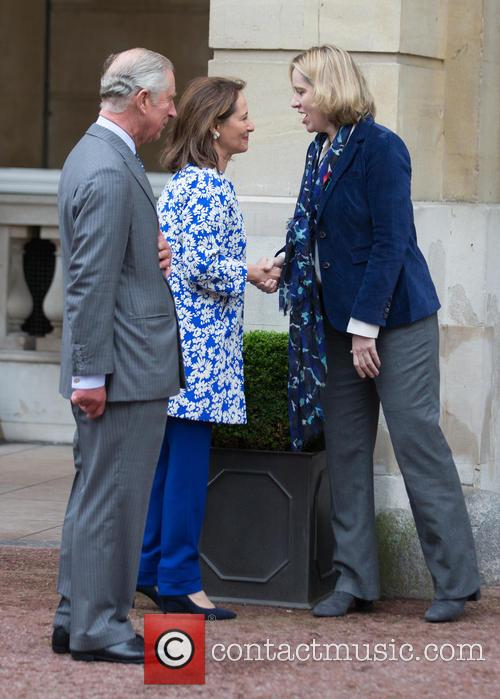 Prince Of Wales, His Royal Highness, Ségolène Royal and French Minister Of Ecology 10