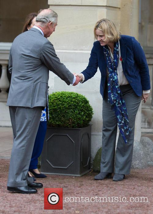 Prince Of Wales, His Royal Highness, Ségolène Royal and French Minister Of Ecology 11