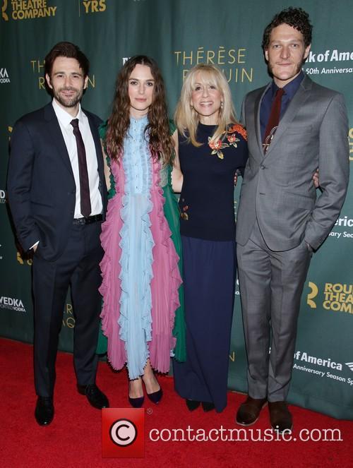 Matt Ryan, Keira Knightley, Judith Light and Gabriel Ebert 1