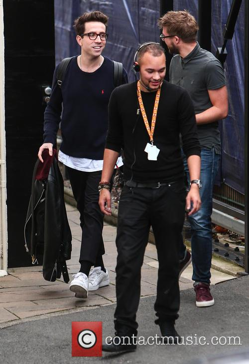 'X Factor' judges arrive at live show rehearsals