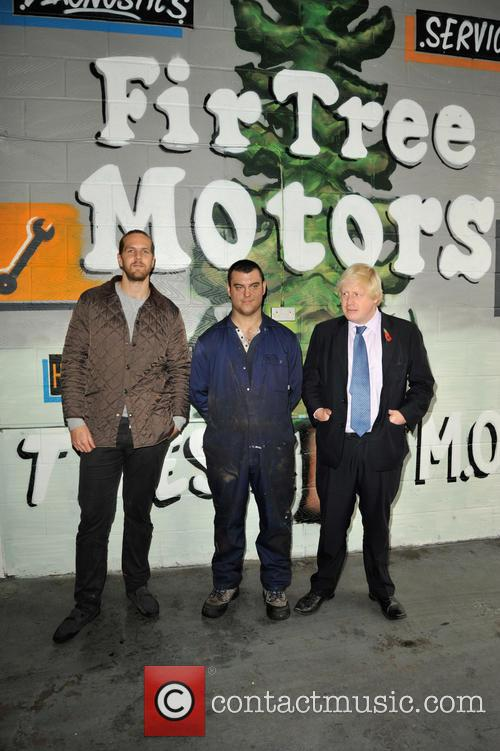 Tom, Patrick and Boris Johnson 2