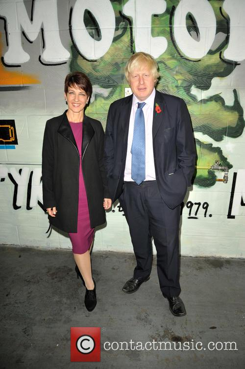 Anna Kennedy Obe and Boris Johnson 1