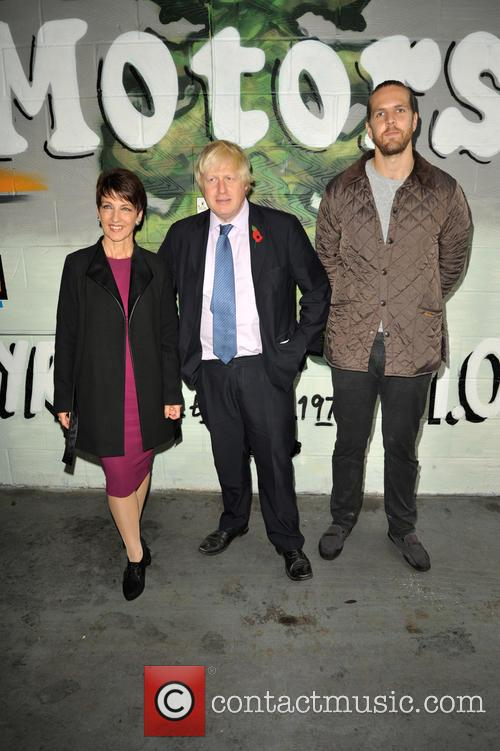 Anna Kennedy Obe, Boris Johnson and Tom 2