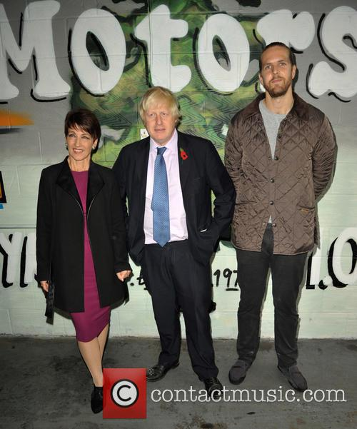 Anna Kennedy Obe, Boris Johnson and Tom 3